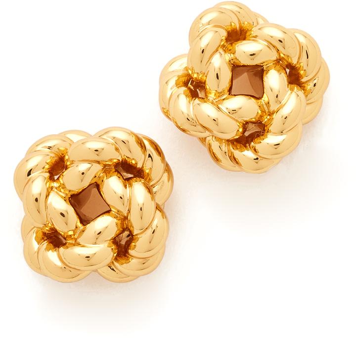 Tory BurchTory Burch Rope Knot Stud Earrings