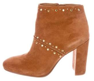 440152c8e Pre-Owned at TheRealReal · Sam Edelman Suede Round-Toe Ankle Boots
