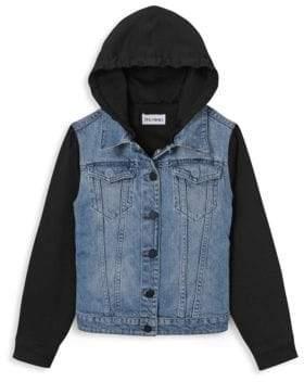 DL Premium Denim Boy's Manning Denim Combo Jacket