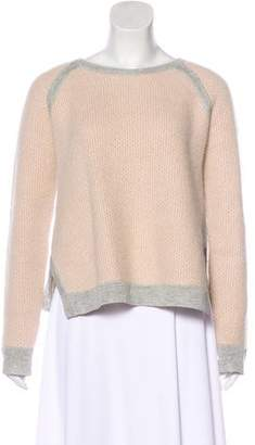 J Brand Scoop Neck Long Sleeve Sweater
