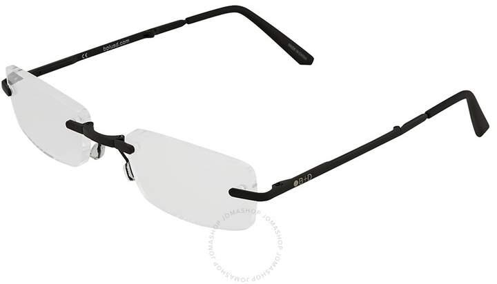 B+D Folding Readers Matt Black/Black Eyeglasses