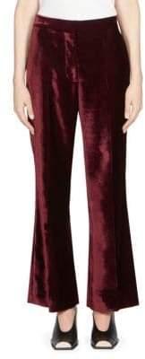 Stella McCartney Cropped Velvet Trouser