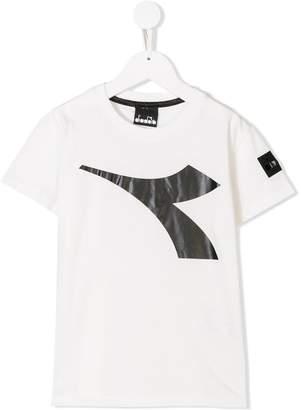 Diadora Junior logo patch T-shirt