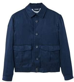 Mango man MANGO MAN Pocket linen-blend jacket