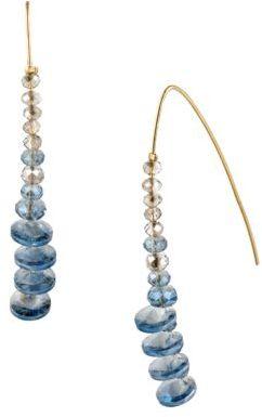 Kenneth Cole NEW YORK Layered Gemstone Drop Earrings