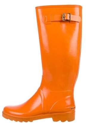 Ralph Lauren Ralph Round-Toe Knee-High Rain Boots