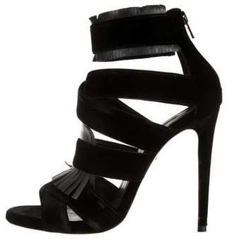 Ruthie Davis Claudette Velvet Sandals