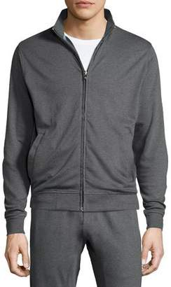 Peter Millar Heather Full-Zip Sweater