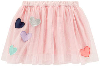 Carter's Heart Tutu Skirt - Toddler Girls