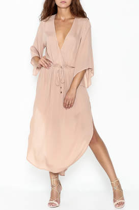 Cotton Candy LA Tie Waist Maxi Dress $58 thestylecure.com
