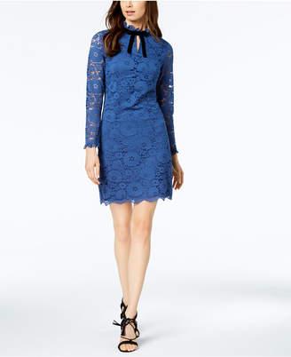 Nanette Lepore Nanette by Keyhole Lace Sheath Dress, Created for Macy's