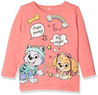 Name It Girl's Nitpawpatrol Fiona Ls F Mini Long Sleeve Top