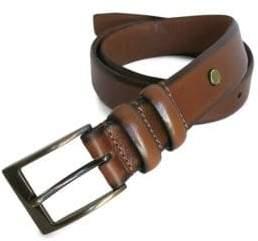 Boconi Narrow Embossed Leather Belt