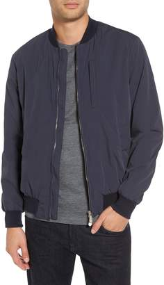 Eleventy Cotton Blend Bomber Jacket