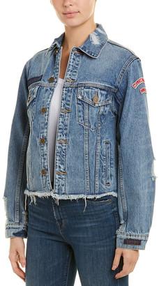 Pam & Gela Patched Trucker Jacket