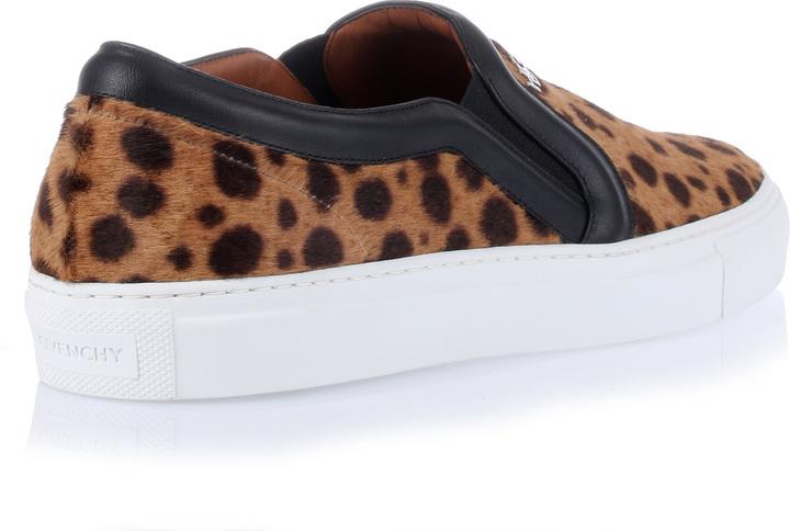 Givenchy Leopard-print pony sneaker