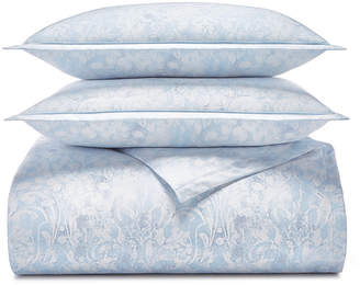 Charter Club Sleep Luxe Cotton 800-Thread Count 3-Pc. Printed Full/Queen Duvet Cover Set