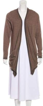Bruno Manetti Cashmere Open Front Cardigan w/ Tags