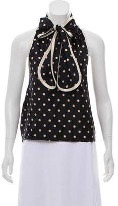 Marc Jacobs Silk Halter Top