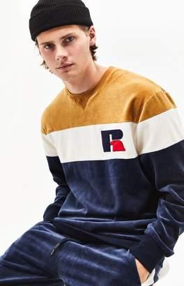 Russell Athletic Velour Crew Neck Sweatshirt
