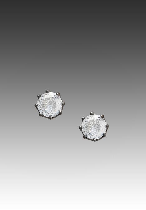 Juicy Couture Dirty Diamond Oversized Stud Earrings