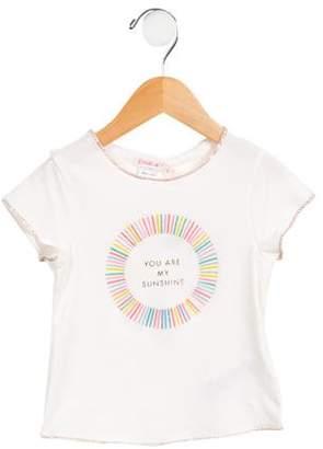 Billieblush Girls' Printed Short Sleeve T-Shirt w/ Tags