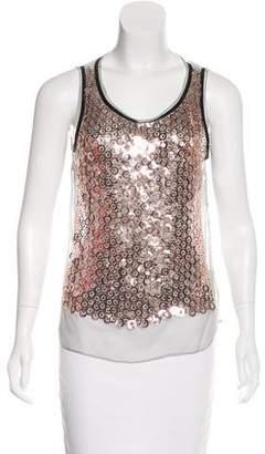 Dolce & Gabbana Embellished Sleeveless Top