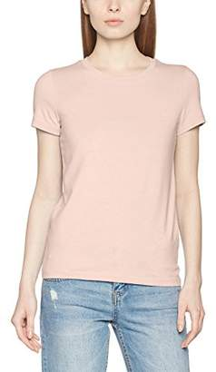Only Women's Onllive Love Trendy SS O-Neck TOP NOOS T-Shirt, White, (Size: S)
