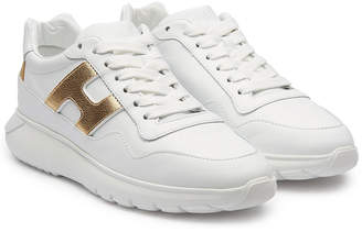 Hogan Leather Platform Sneakers