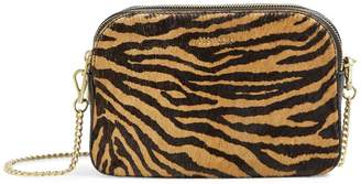 Ted Baker Halliie Tiger Print Double-Zip Shoulder Bag