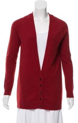 Balenciaga Wool V-Neck Cardigan