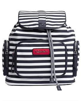 Tommy Hilfiger Varsity Nylon Stripe Backpack