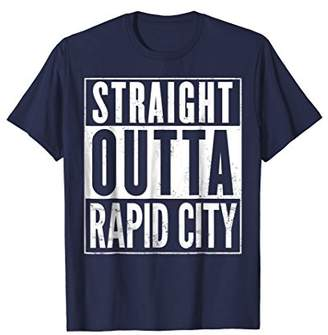 Straight Outta Rapid City Funny T-Shirt