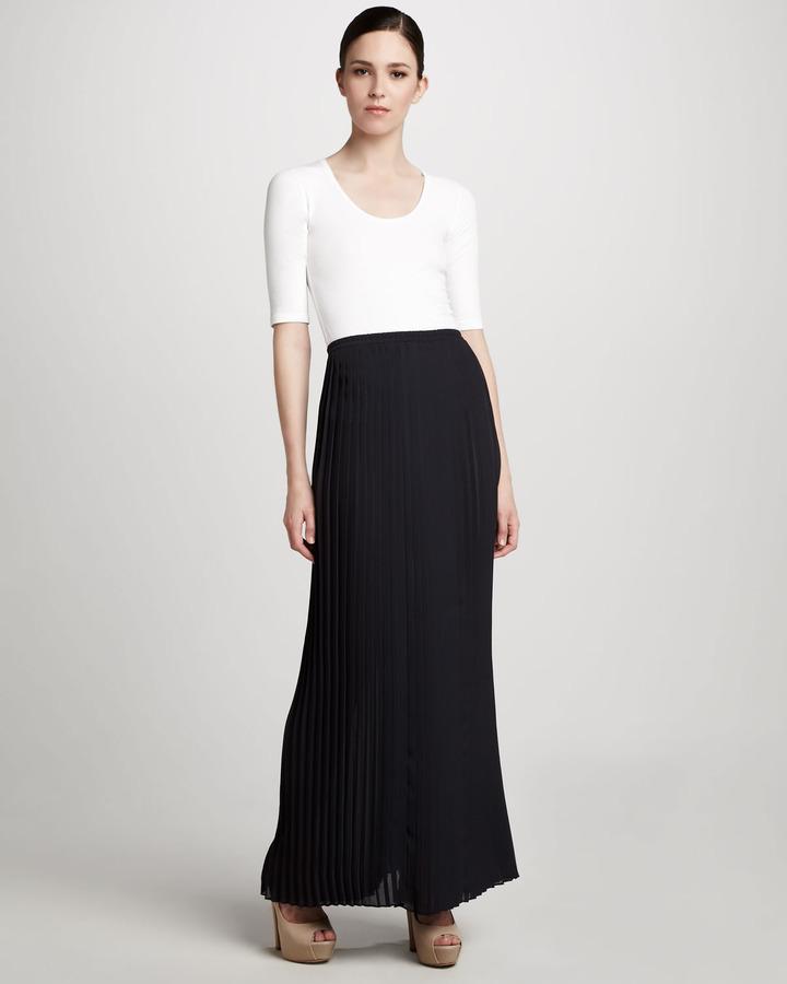 Michael Kors Pleated Maxi Skirt