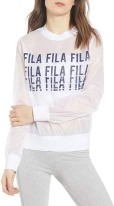 Fila Sol Sheer Woven Sweatshirt