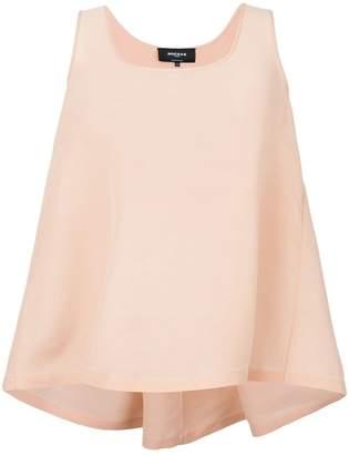 Rochas sleeveless flared blouse