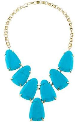 Kendra Scott Dyed Howlite Harlow Statement Necklace
