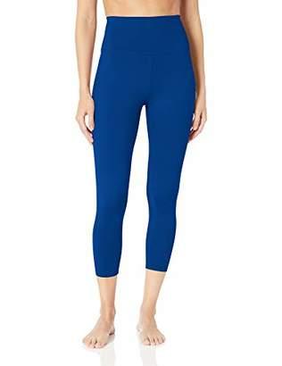 "Core 10 Women's Plus Size All Day Comfort High Waist 7/8 Crop Yoga Legging - 24"""