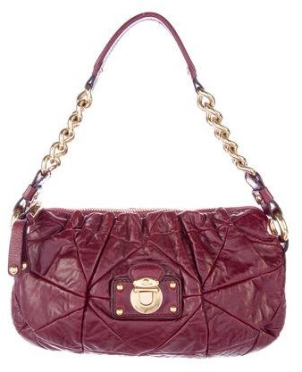 Marc Jacobs Marc Jacobs Quilted Leather Handle Bag