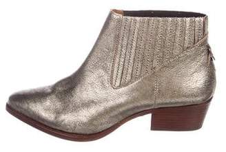 Hudson London Metallic Ankle Boots