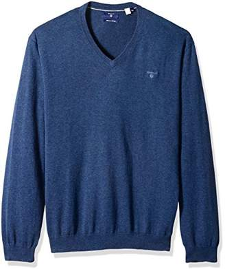 Gant Men's Lightweight Cotton V-Neck Sweater