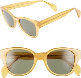 Morgenthal Frederics Oscar De La Renta X Sabrina 50mm Cat Eye Sunglasses