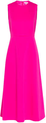 DELPOZO Neoprene Sleeveless Midi Dress