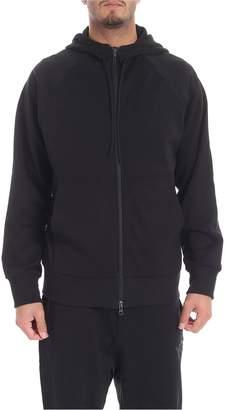 Y-3 Y 3 Y3 Zip-up Hooded Sweatshirt