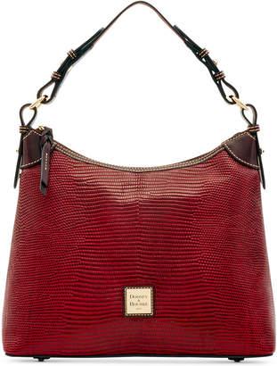 Dooney & Bourke Lizard-Embossed Leather Hobo, Created for Macy's