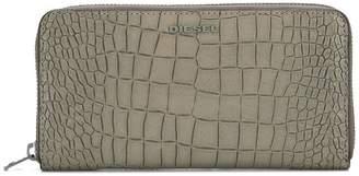 Diesel crocodile texture wallet