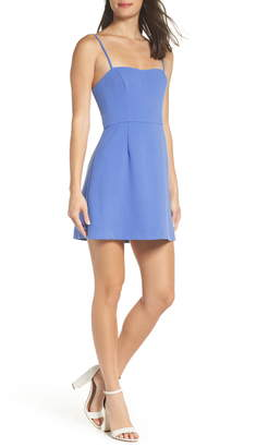 88109f33 French Connection Whisper Light Sweetheart Minidress