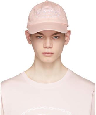 Daniel W. Fletcher SSENSE Exclusive Pink Dannys Hardware Cap 5c440dc0604