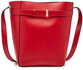Victoria Beckham Twin Bucket Leather Tote