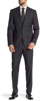 Nordstrom Rack Plaid Trim Fit Suit